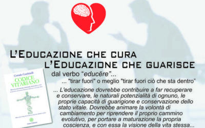 L'Educazione che cura… L'Educazione che guarisce